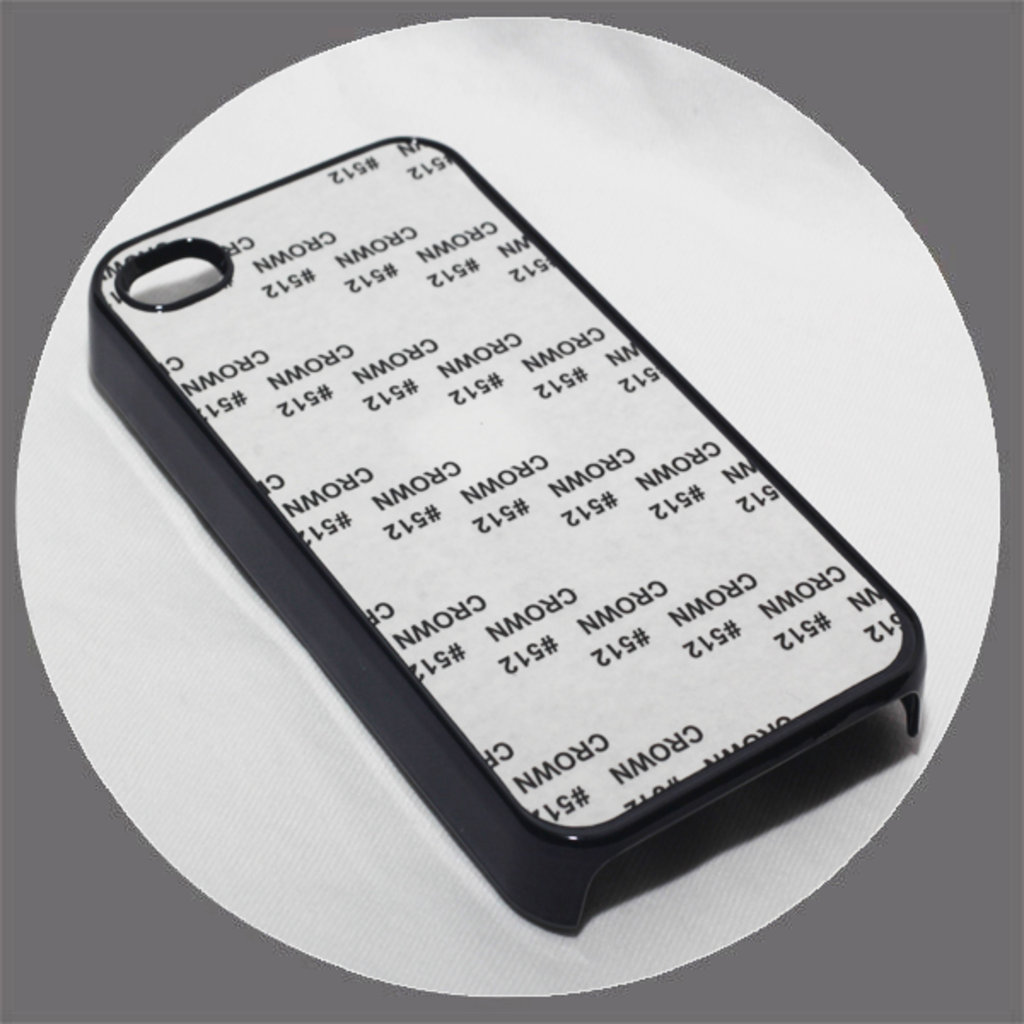 Apple: Чехол для IPhone 4 и 4s Металлизированный Черный в NeoPlastic