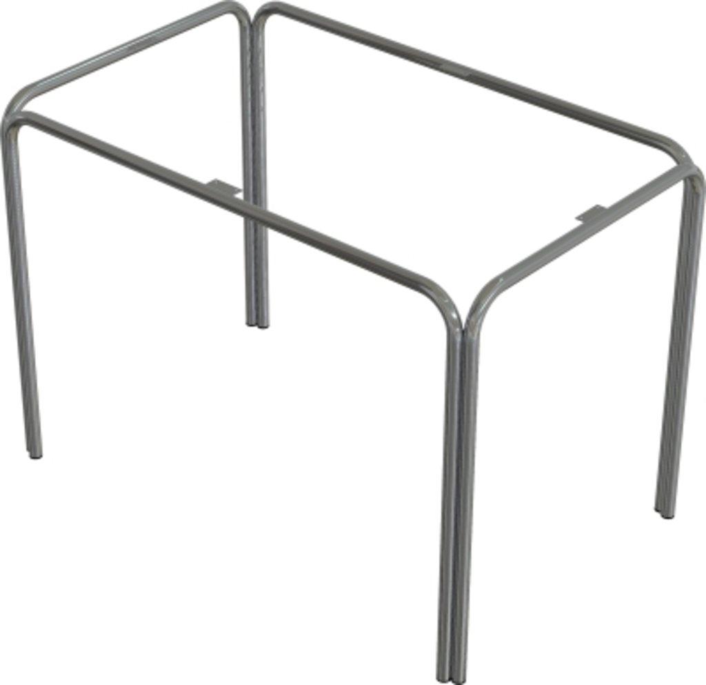 Столы для ресторана, бара, кафе, столовых: Стол прямоугольник 120х80, подстолья № 4 прямоугольник серая в АРТ-МЕБЕЛЬ НН
