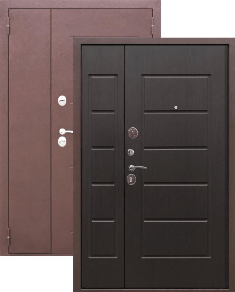 Двери Цитадель: Дверь входная металлическая GARDA Венге 7,5см в Салон дверей Доминго Ноябрьск