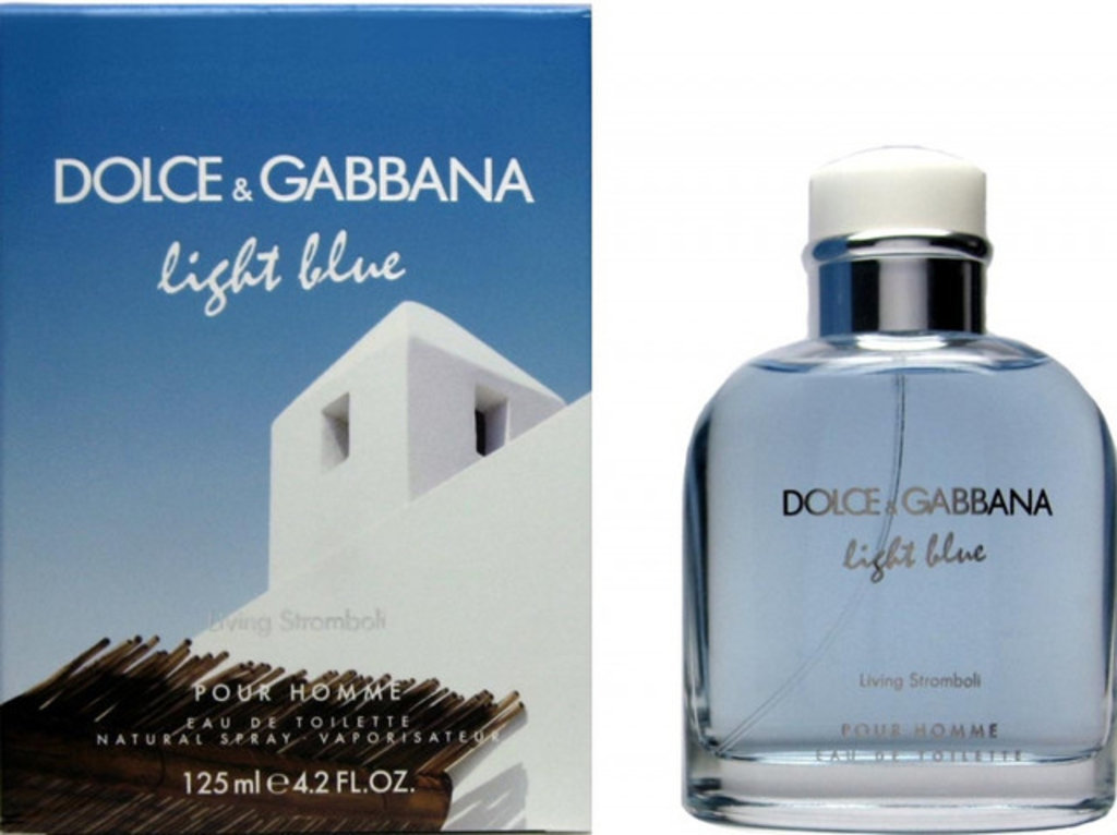 Dolce&Gabbana: D&G Light Blue Living Stromboli Туалетная вода edt муж 125 ml в Элит-парфюм