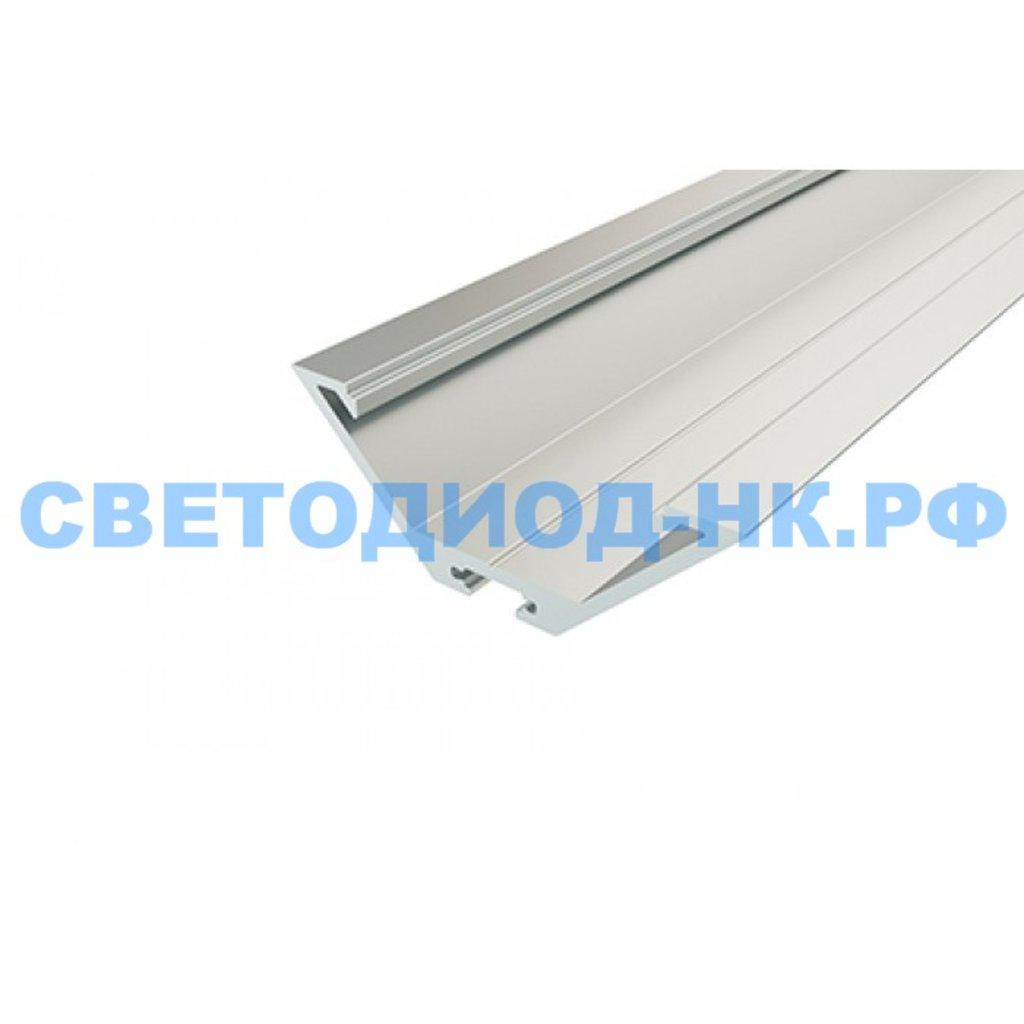 Алюминиевый профиль: REXANT профиль угловой алюминиевый 6423-2 2 м, 146-244 в СВЕТОВОД
