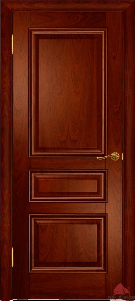 Двери Белоруссии  шпонированые: Вена-2 (красное дерево) в STEKLOMASTER
