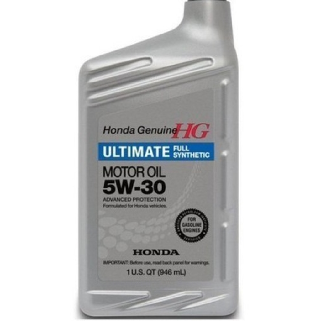 Моторные масла: HONDA Ultimate Full Synthetic SAE 5W-30 в Honda Service Vologda