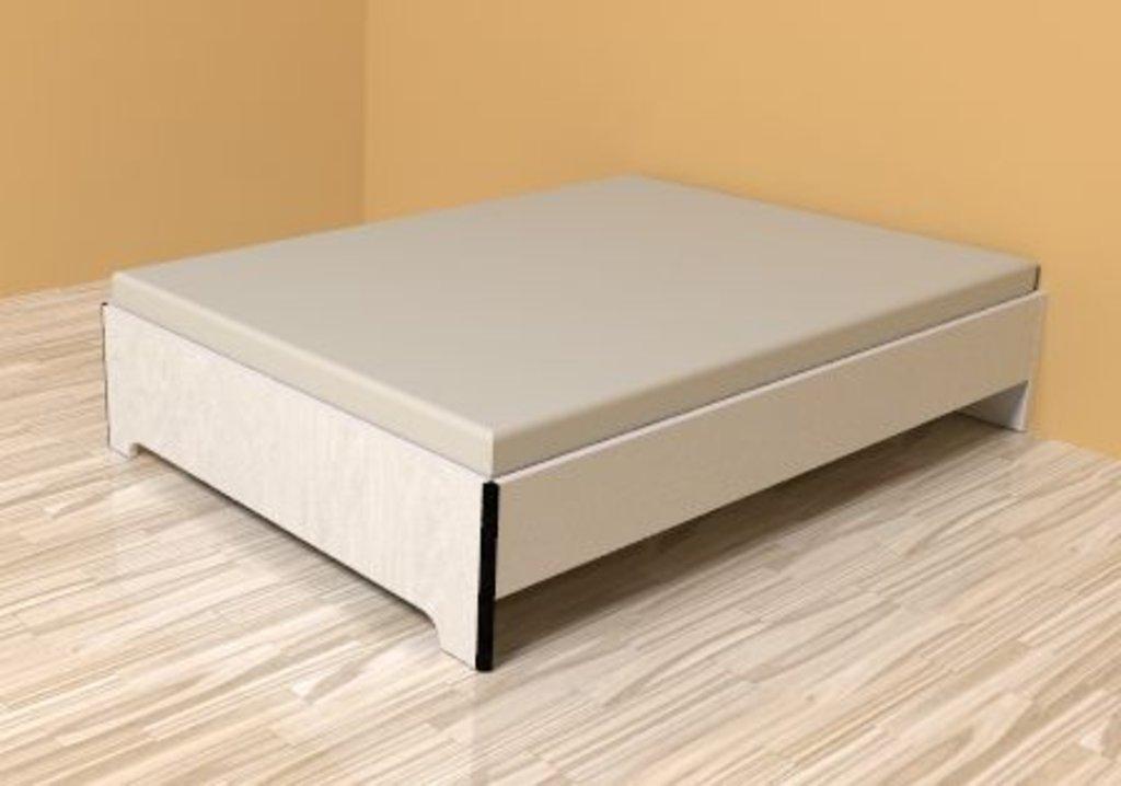 Кровати: Кровать Эко 3 (1400, орт. осн. металл) в Стильная мебель