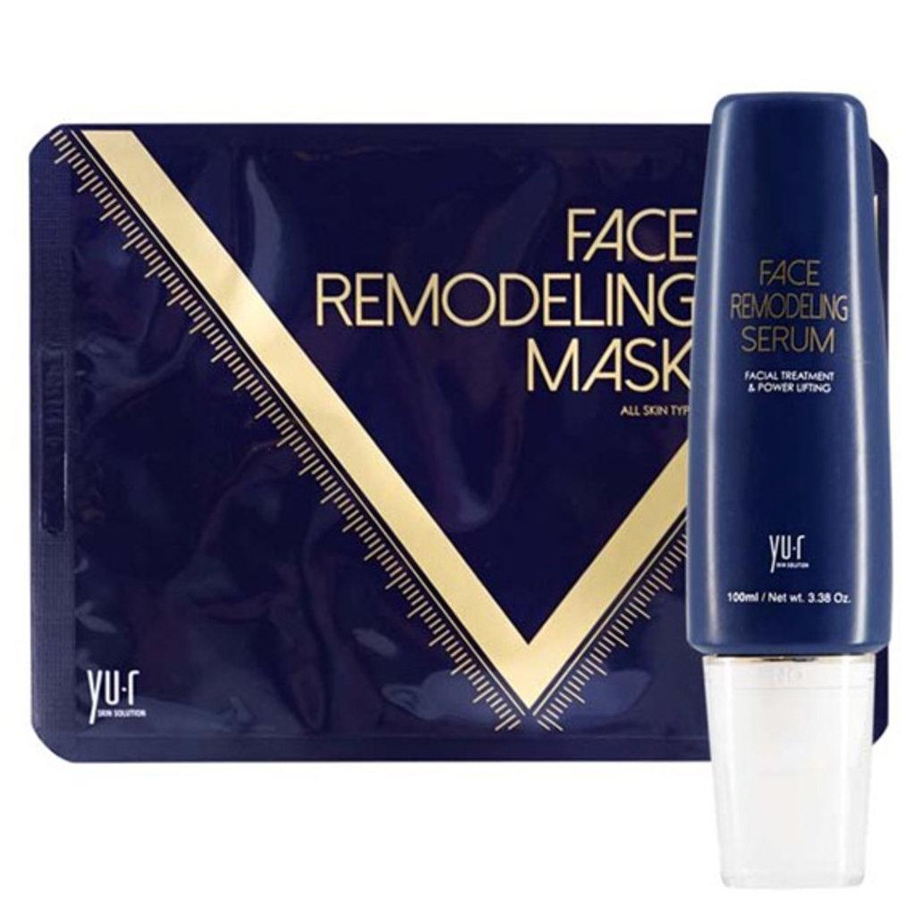 Антивозрастной уход: Программа моделирования овала лица YU.R Face Remodeling Mask в Косметичка, интернет-магазин профессиональной косметики