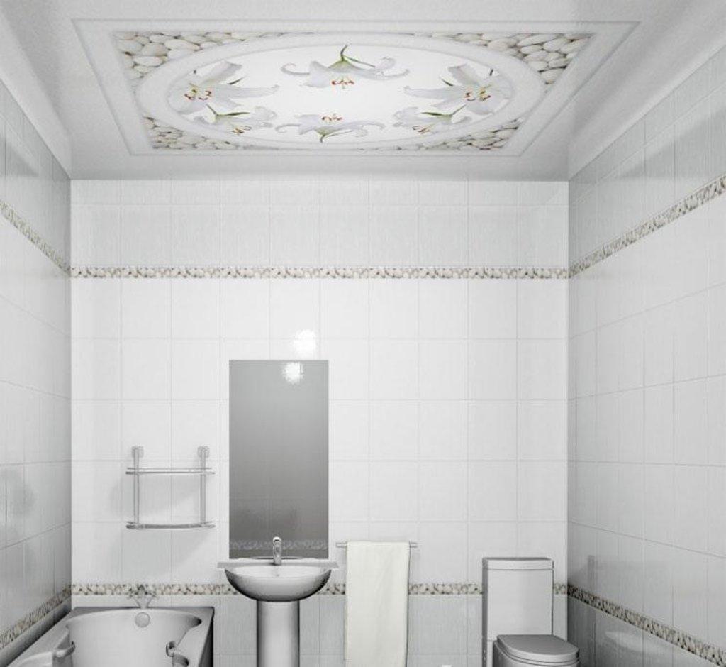 Панели Novita: Декоративный потолок Лилия NOVITA в Мир Потолков