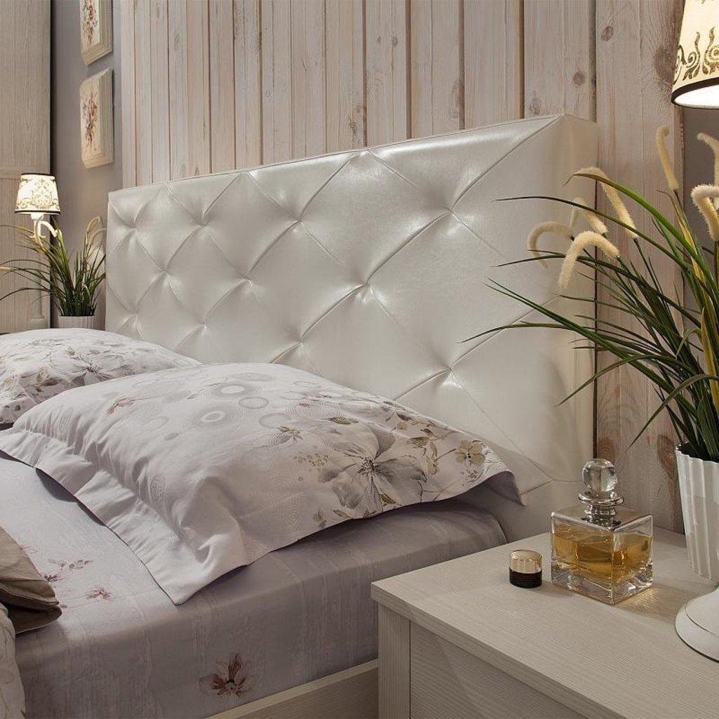 Кровати: Кровать Люкс Марсель 38.2 (1400, мех. подъема) в Стильная мебель
