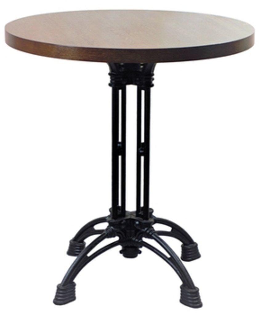 Столы для ресторана, бара, кафе, столовых.: Стол круг 800, подстолья 1236 ЕМ чугун в АРТ-МЕБЕЛЬ НН