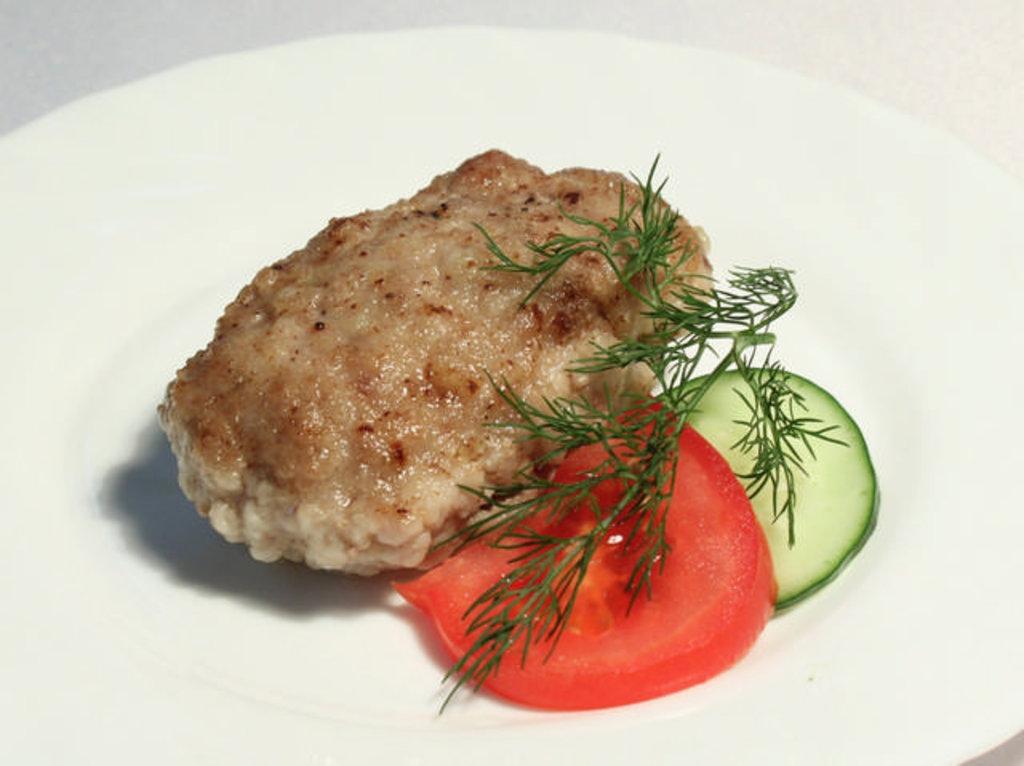 Среда: Шайба мясная с гарниром (280 г) в Смак-нк.рф