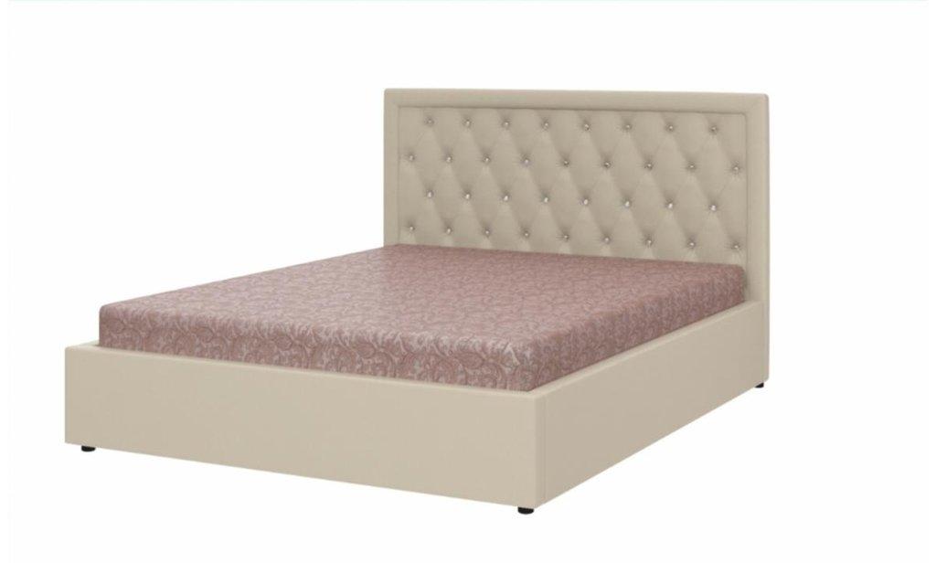 Кровати: Кровать двойная из экокожи Марта в Уютный дом