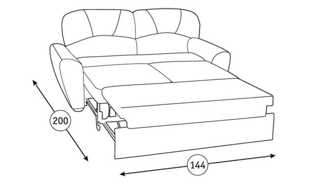 Диваны Фламенко: Диван-кровать Фламенко (150) Арт. 40437 в Диван Плюс