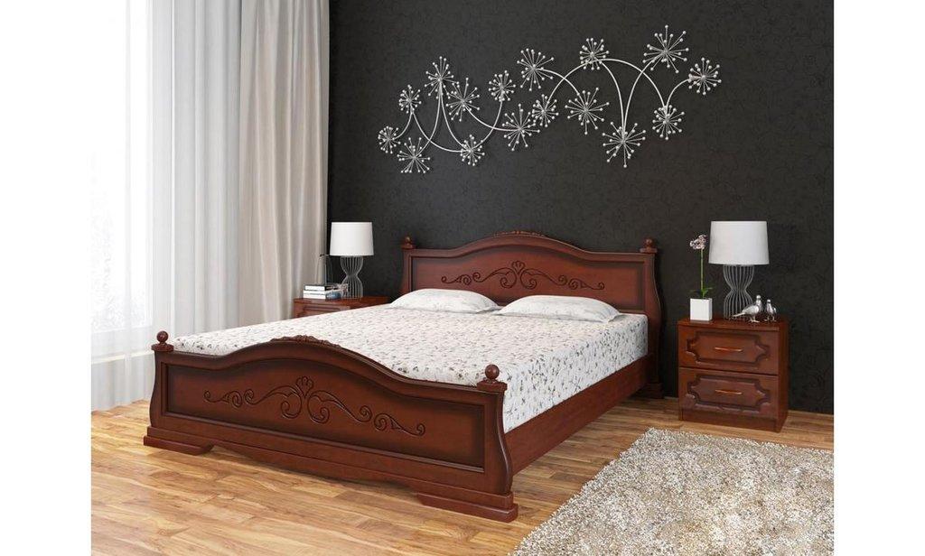 Кровати: Кровать Карина-1 (массив) в Уютный дом