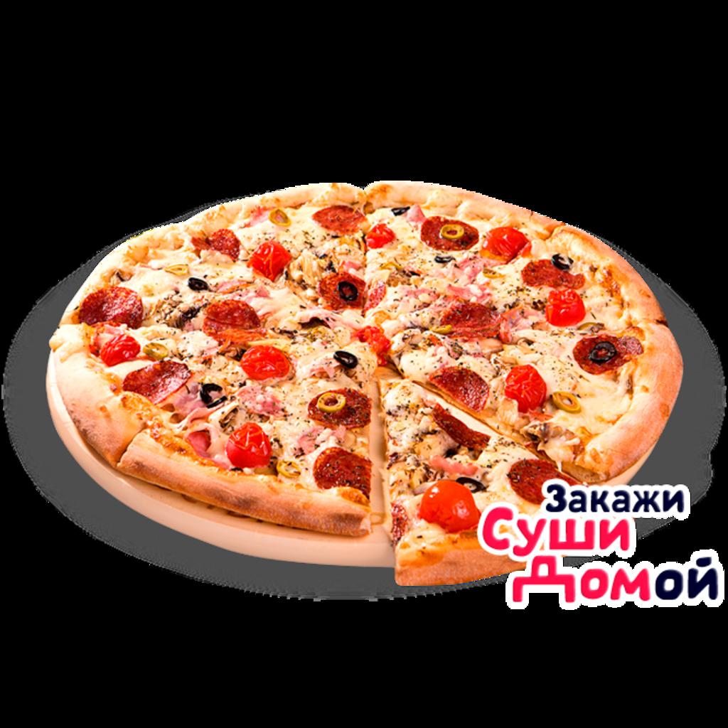 Пиццетта: Пиццетта Пепперони в ВОЗЬМИ суши домОЙ