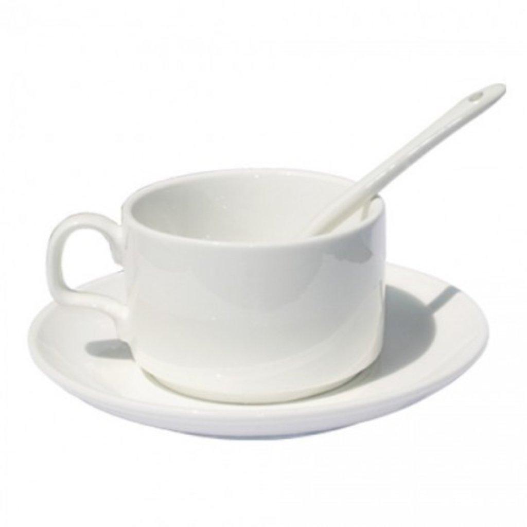 Белые кружки-заготовки: Кофейный набор в NeoPlastic