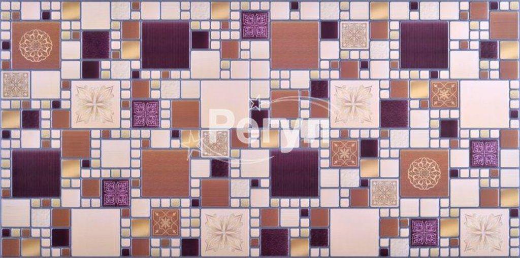 Панели ПВХ: Мозаика Модерн амарантовый в Мир Потолков