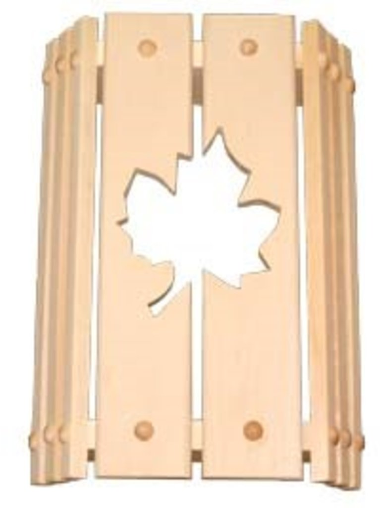 Абажуры для светильников: Абажур угловой (липа) в Погонаж