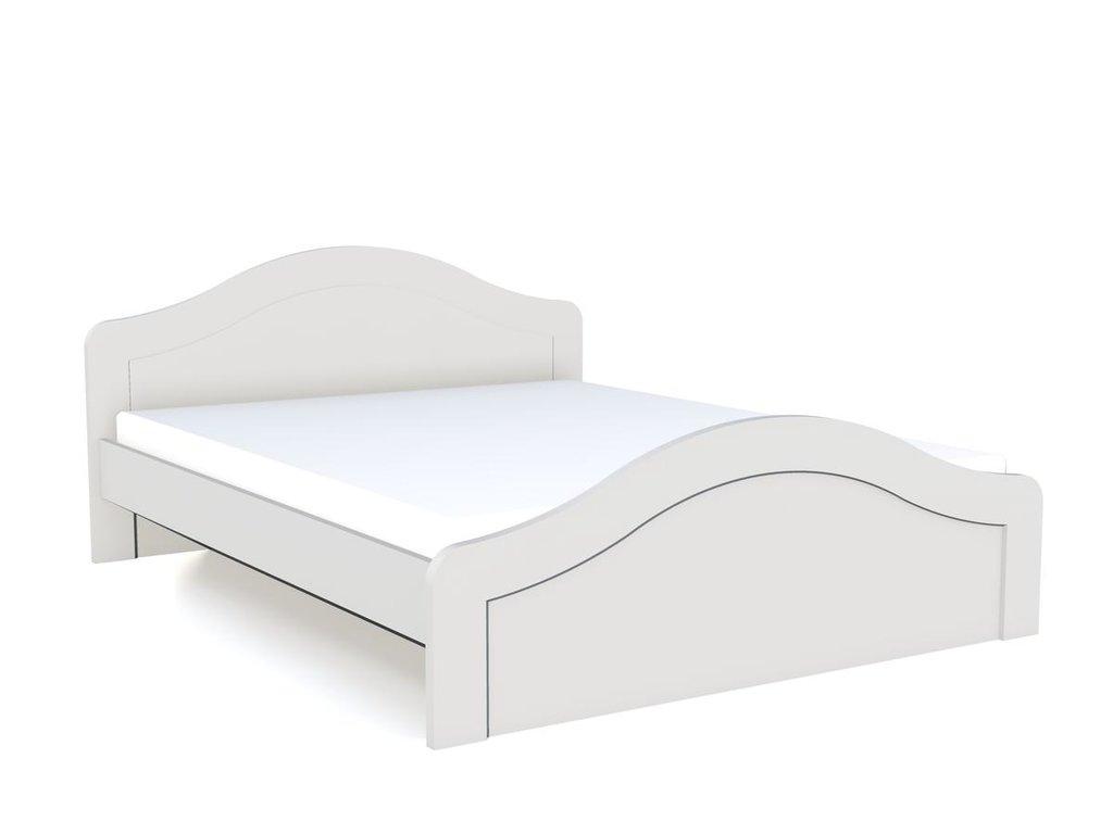 Детские и подростковые кровати: Кровать НМ 011.73 Прованс (1600x2000, орт. осн. дерево) в Стильная мебель