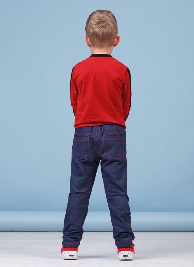Одежда для мальчиков: Брюки для мальчика 28-8017-4 в Детский универмаг