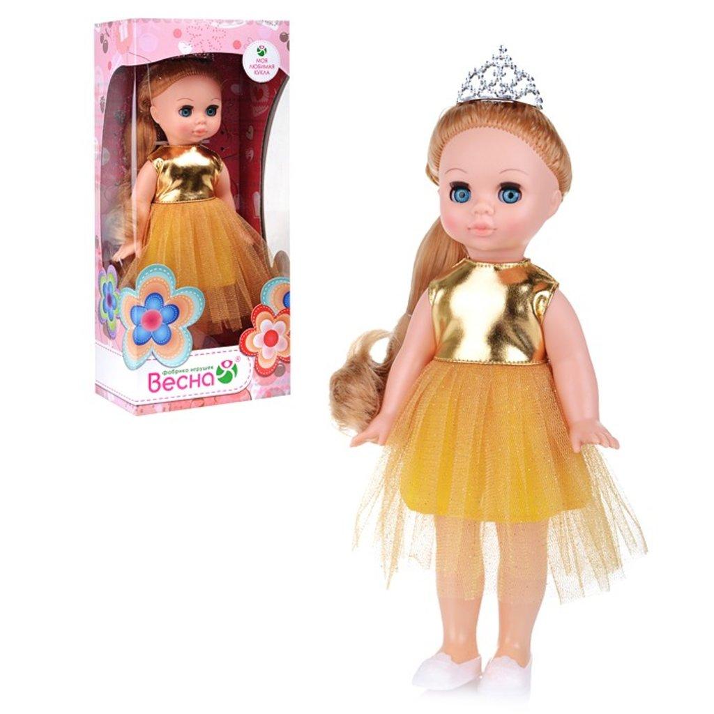 """Игрушки для девочек: Кукла """"Эля праздничная 1"""" в Игрушки Сити"""