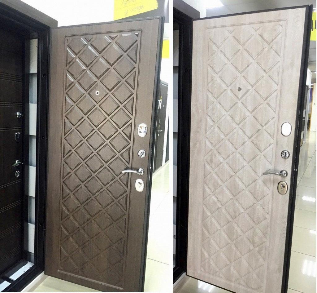 Входные двери (премиум)  от 90-110мм: Входная дверь  KAMELOT Винорит в Пластиковые окна в Сургуте STEKLOMASTER
