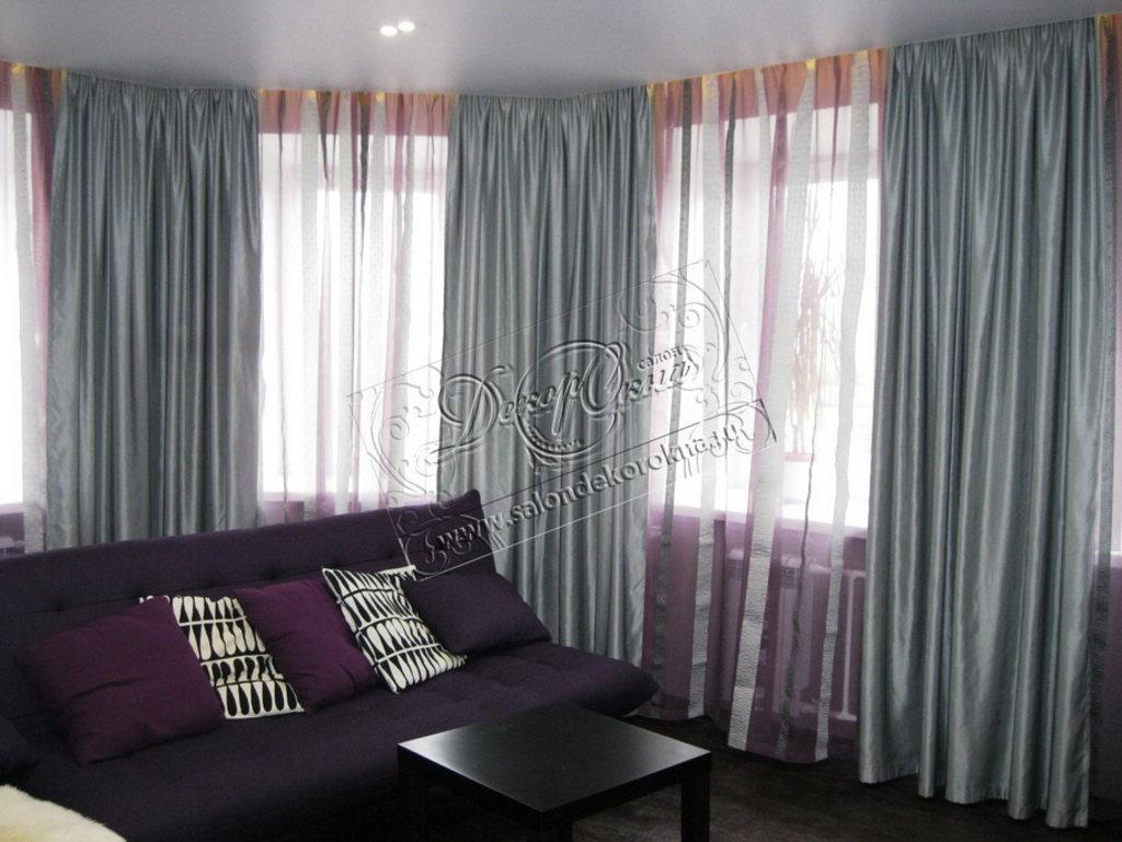 Карнизы для штор: Карнизы профильные в Декор окна, салон