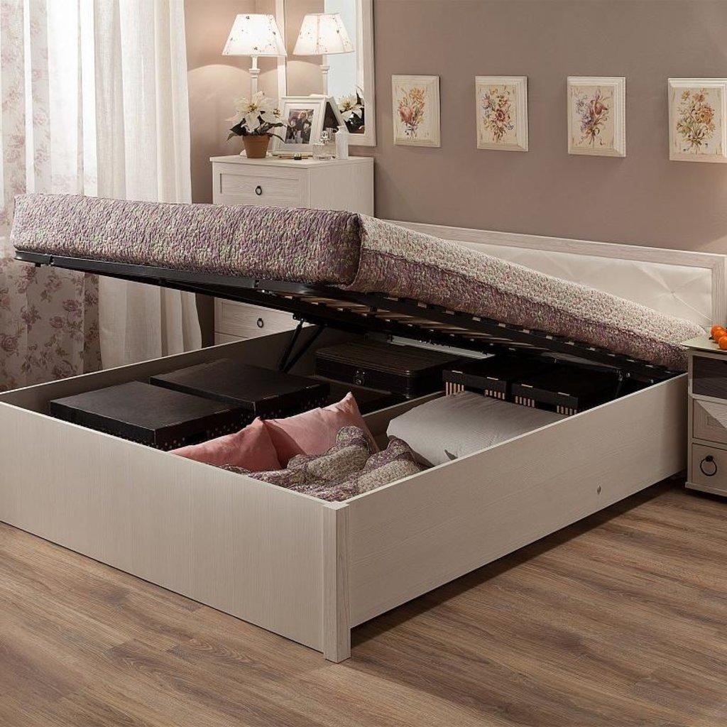 Кровати: Кровать Марсель 33.2 (1400, мех. подъема) в Стильная мебель