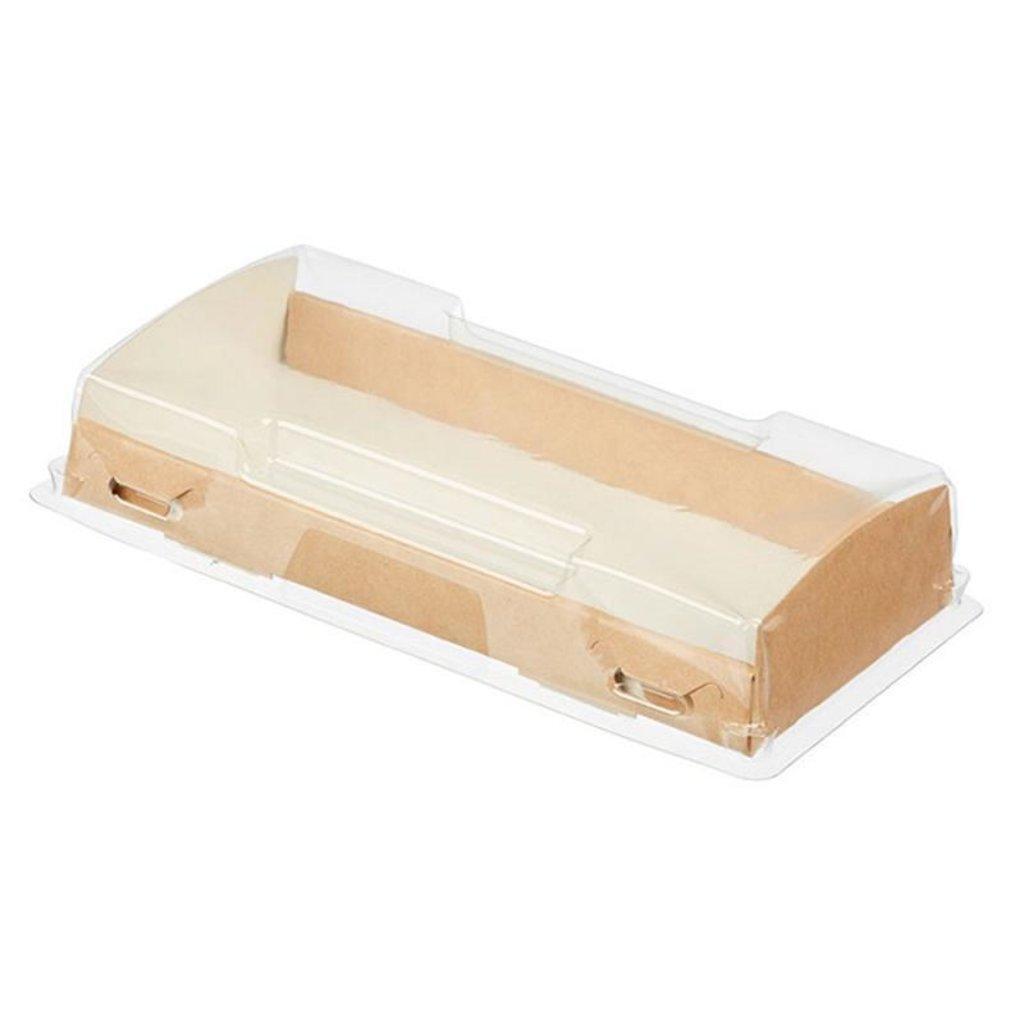 Коробки для кондитерских изделий: Коробка Eco opbox 600 в ТортExpress