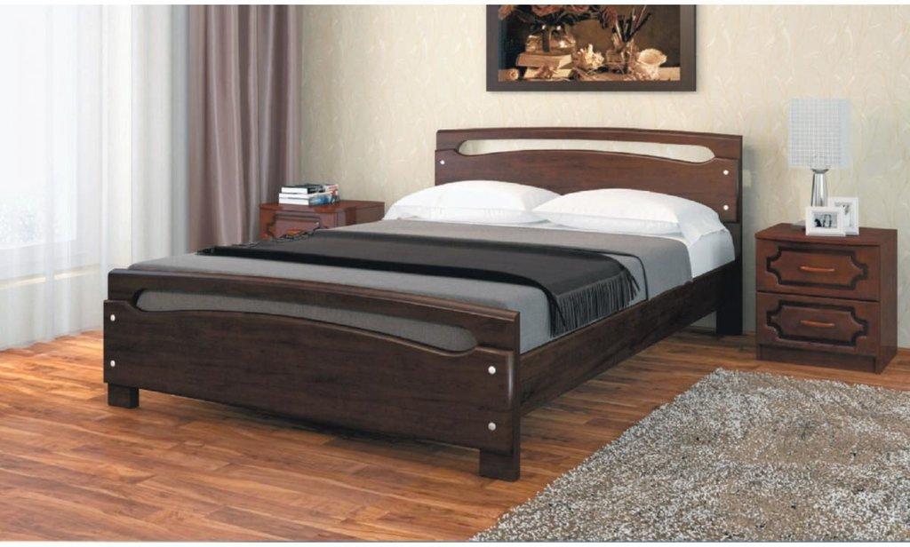 Кровати: Кровать Камелия-2 (массив) в Уютный дом