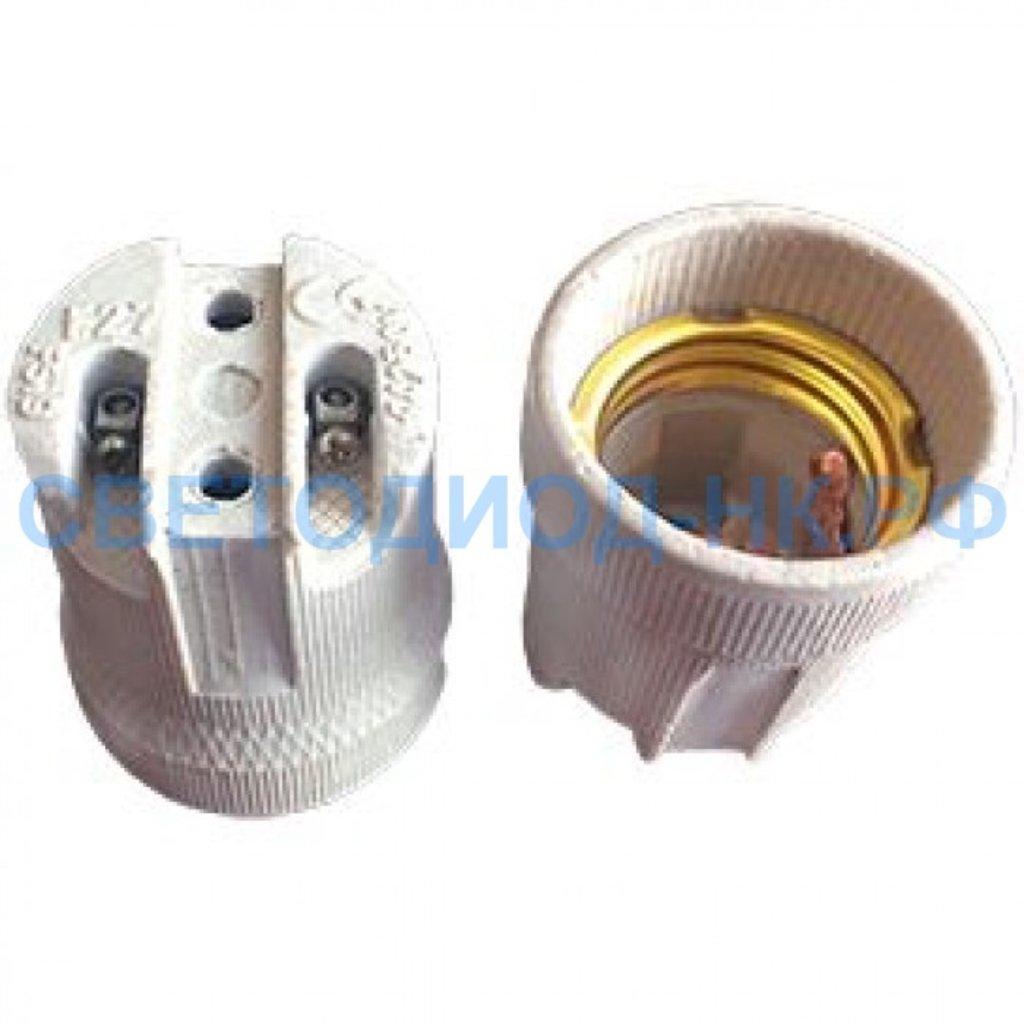 Патроны для ламп: Ecola патрон керамический E27 Белый AB7SCWEAY в СВЕТОВОД