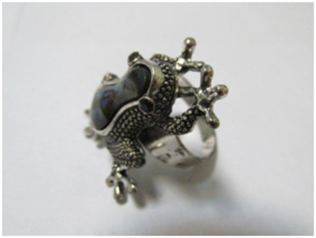 Кольца: Кольцо «Лягушка» в Шамбала, индийская лавка