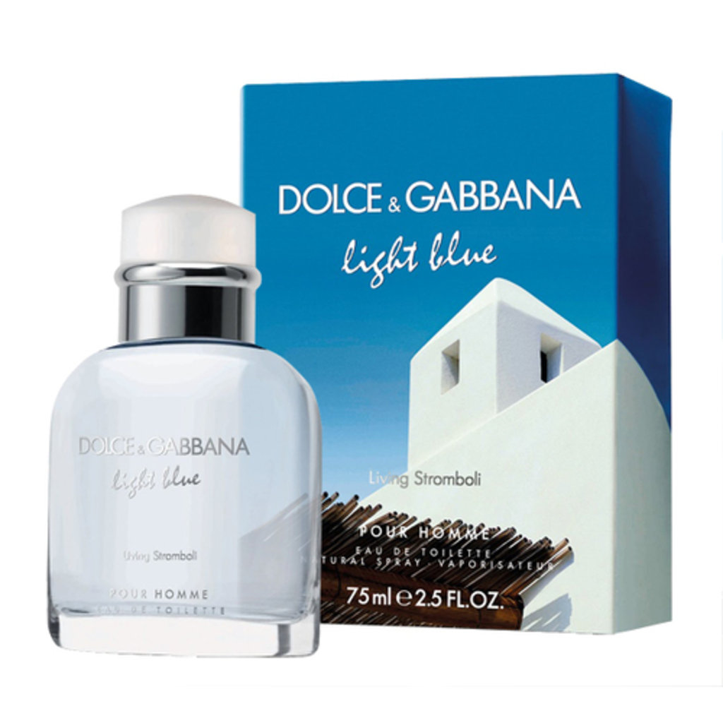 Dolce&Gabbana: D&G Light Blue Living Stromboli Туалетная вода edt муж 75 ml в Элит-парфюм