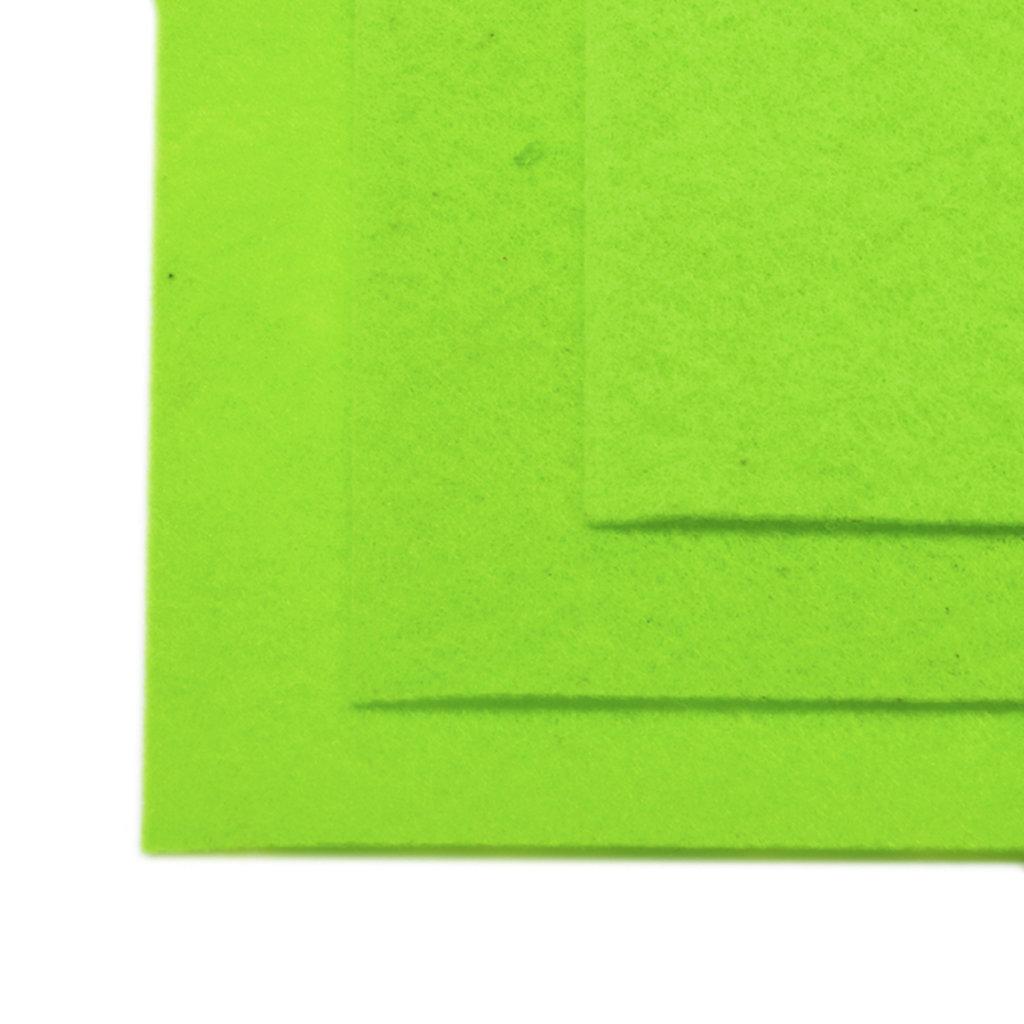 Фетр: IDEAL Фетр жёсткий 1мм 20*30см зеленое яблоко 1лист в Шедевр, художественный салон