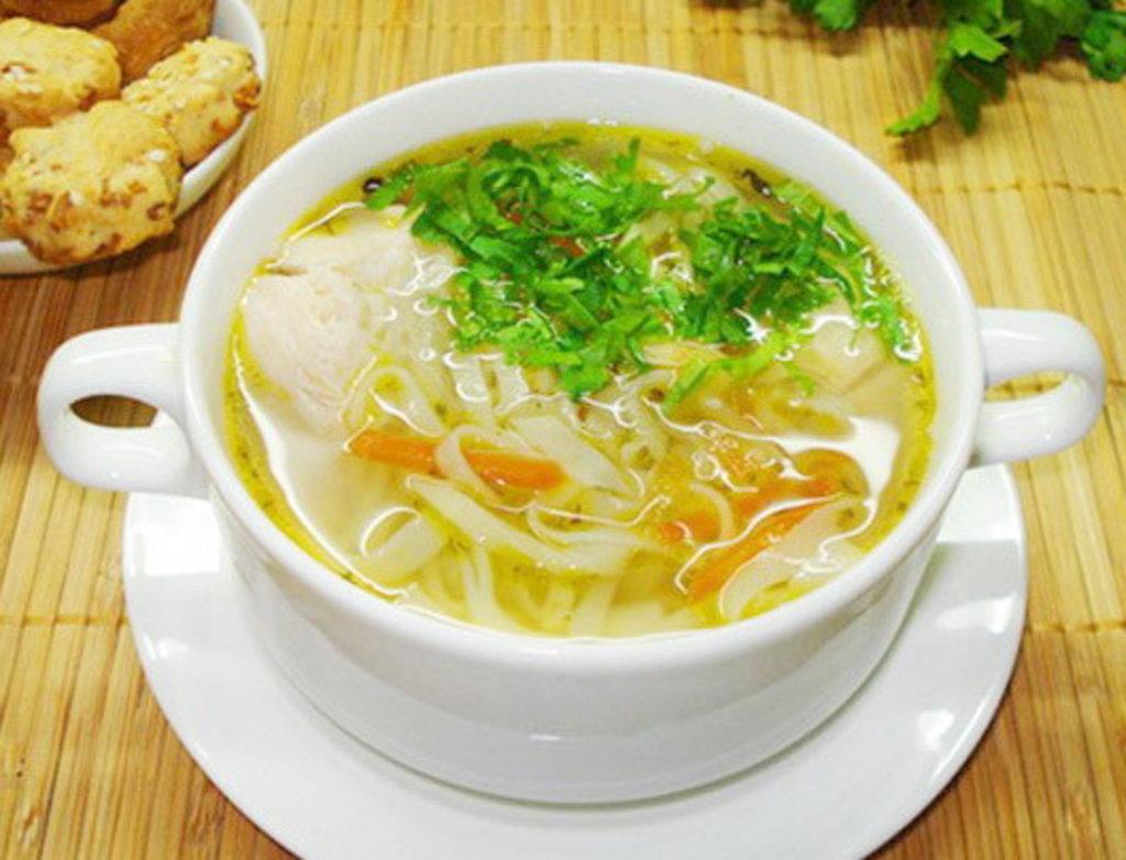 Понедельник: Суп с курочкой и яйцом (350 мл) в Смак-нк.рф