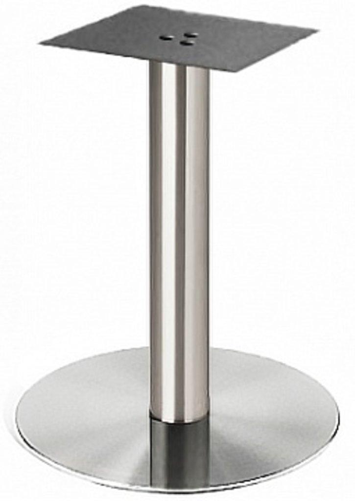 Подстолье, опоры: Подстолье 1087ЕМ (нержавеющая сталь матовое) в АРТ-МЕБЕЛЬ НН