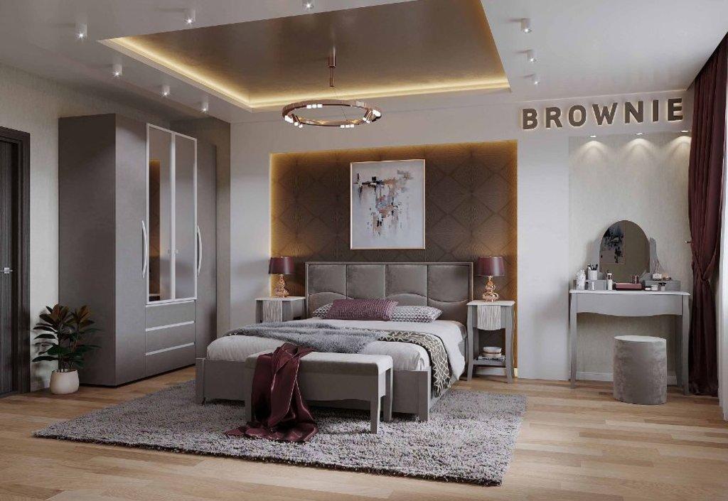 Мебель для спален, общее: Тумба прикроватная Brownie 41 в Стильная мебель