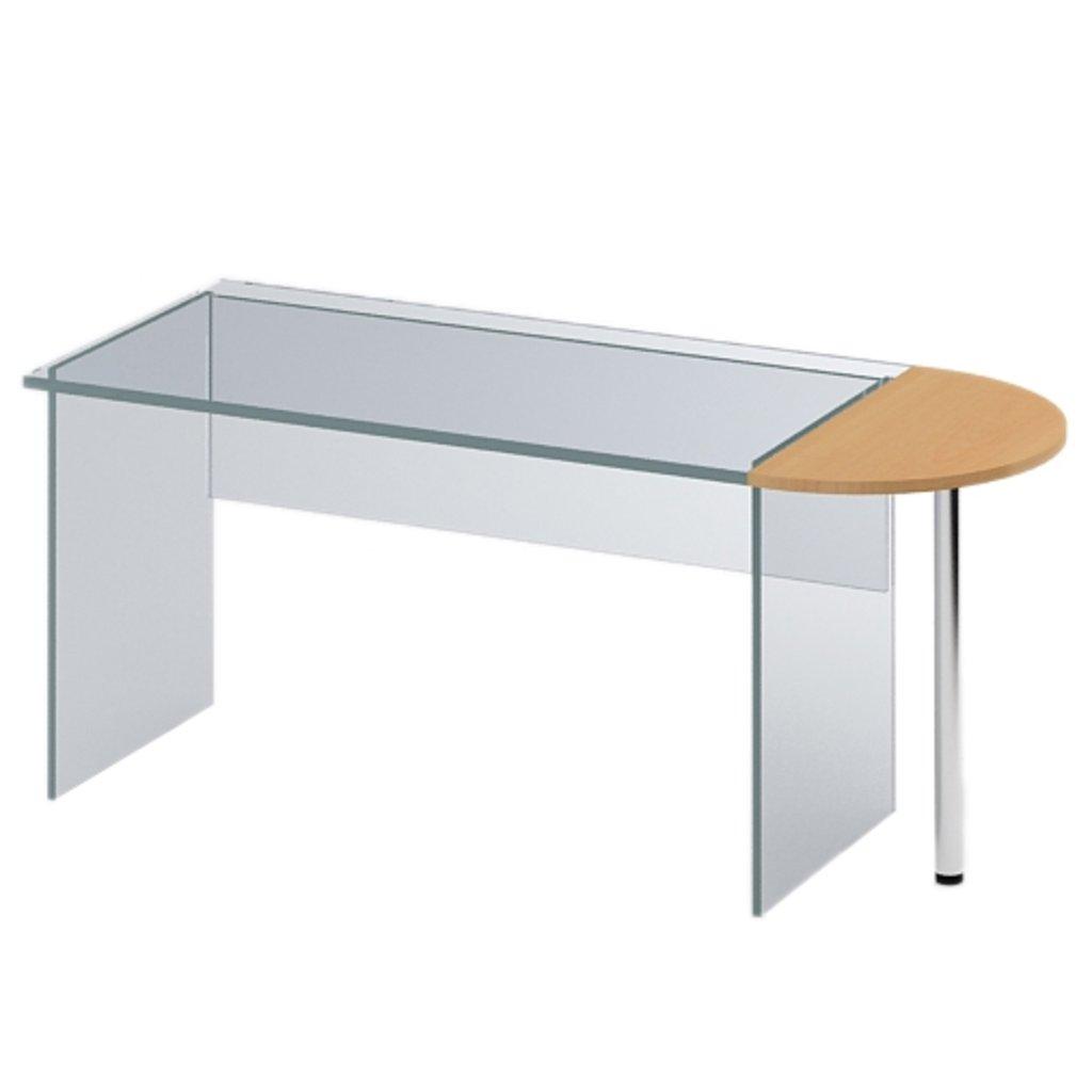 Офисная мебель столы, тумбы Р-16: Элемент приставной (16) 600*400*750 в АРТ-МЕБЕЛЬ НН