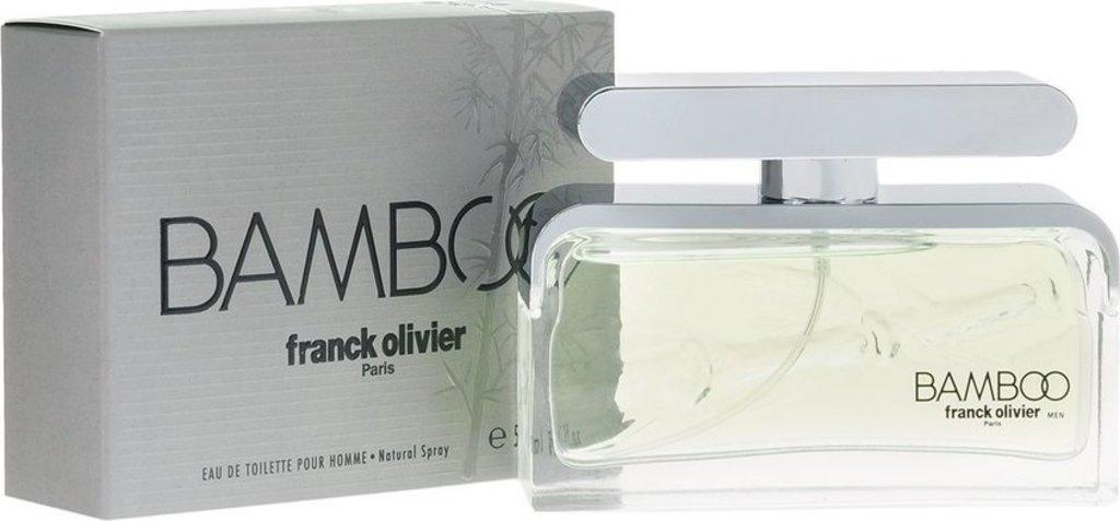 Мужская туалетная вода: Franck Olivier Bamboo edt м 75 мл в Элит-парфюм