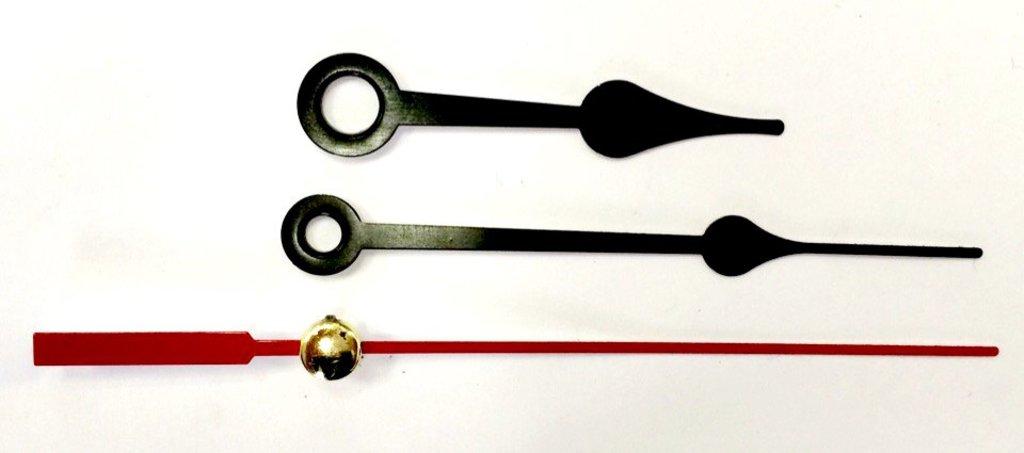 Заготовки для часов: Комплект стрелок 42/62 черные НН234 в Шедевр, художественный салон