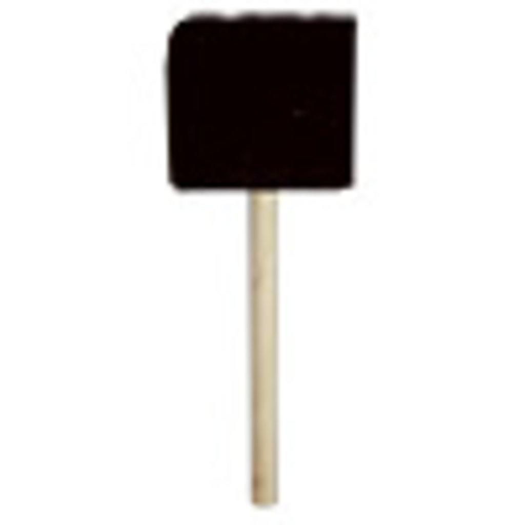 Поролоновые кисти: Кисть плоская, поролон, 60 мм, деревянная ручка в Шедевр, художественный салон