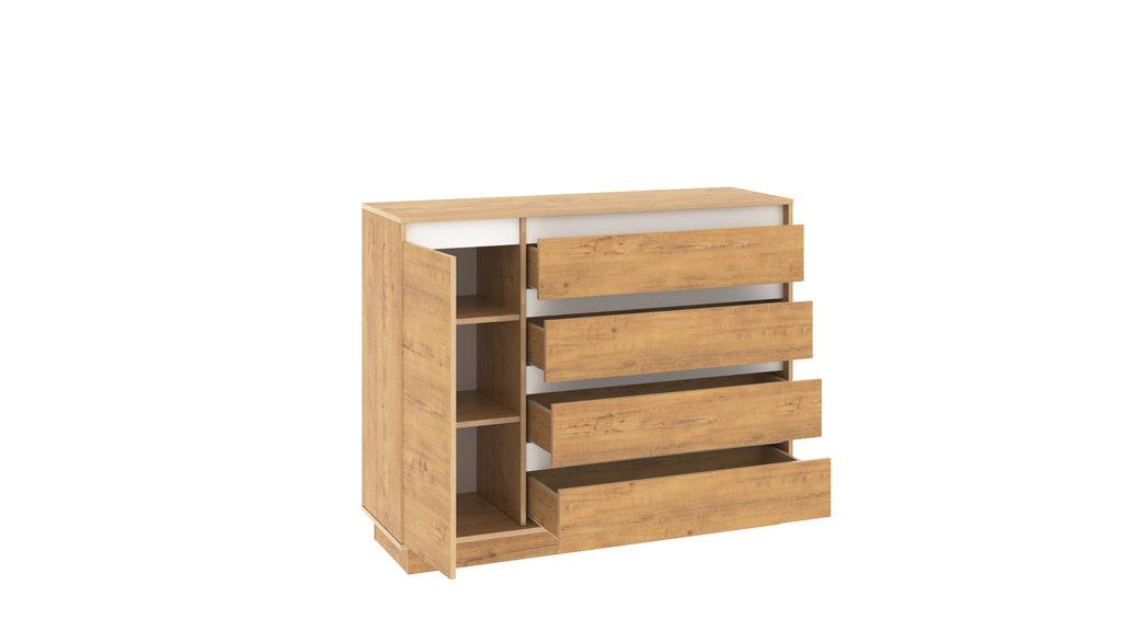 Мебель для прихожих, общее: Комод VIRGINIA НМ 011.01 Дуб Бунратти в Стильная мебель