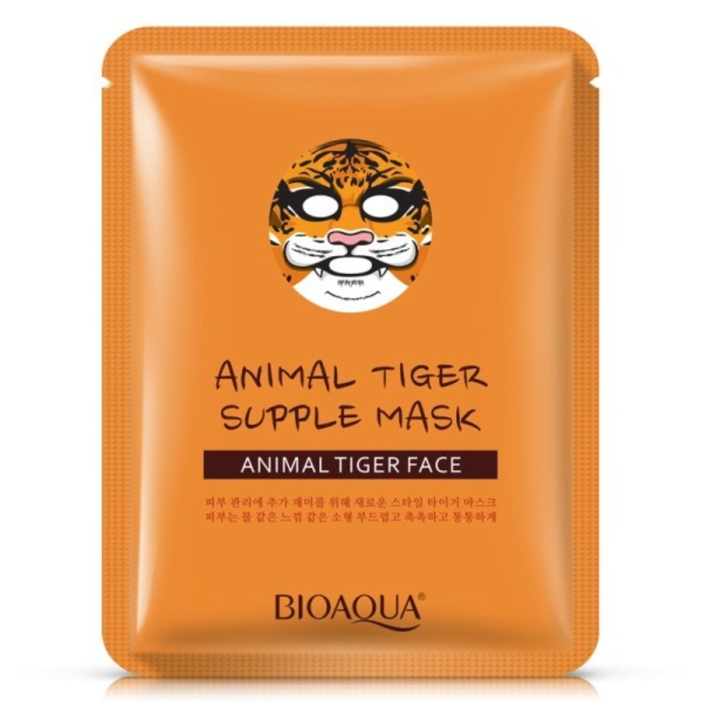 "Маски: Маска тканевая Bio Aqua Mask ""Animal Face - Tiger"" в Мой флакон"