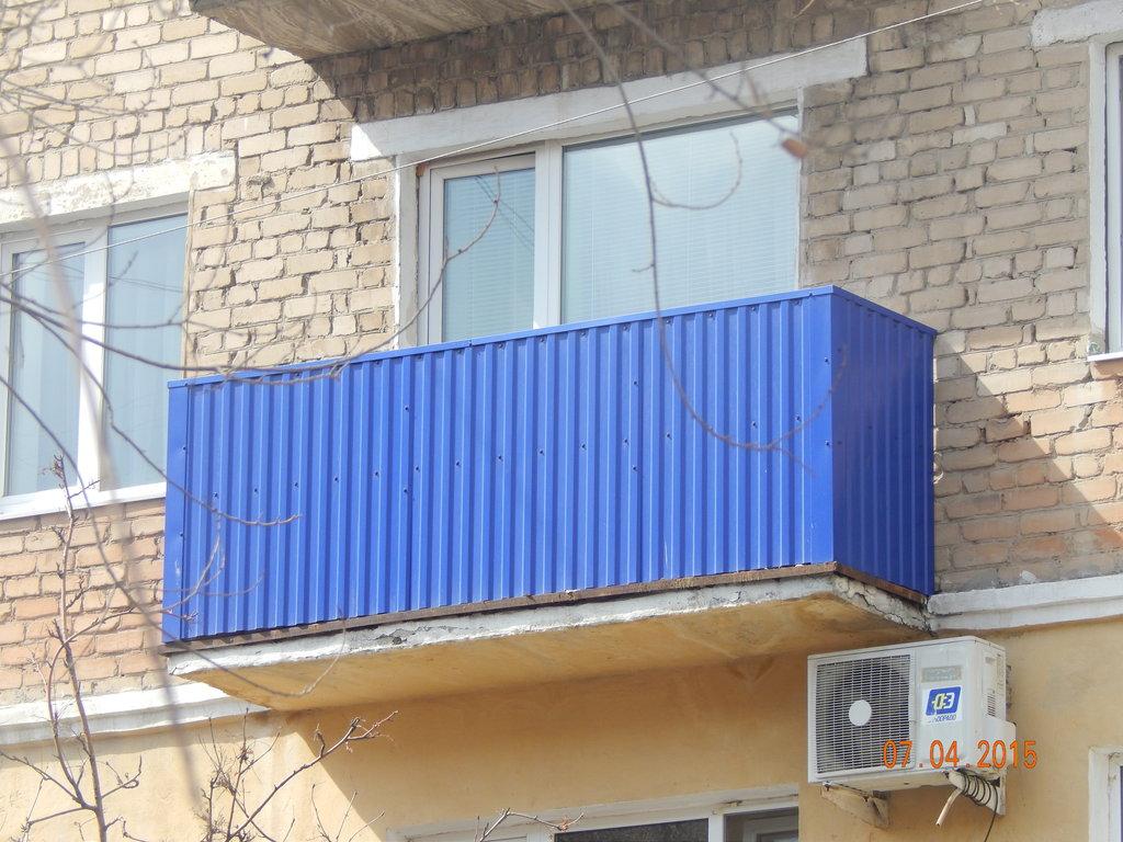 Устройство балконов, лоджий: Внешняя отделка корзины балкона или лоджии в Балкон-Уют