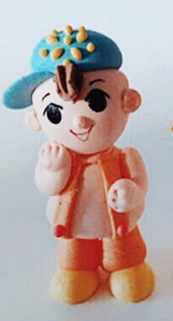 Сахарные украшения: Сахарное украшение Мальчик в ТортExpress