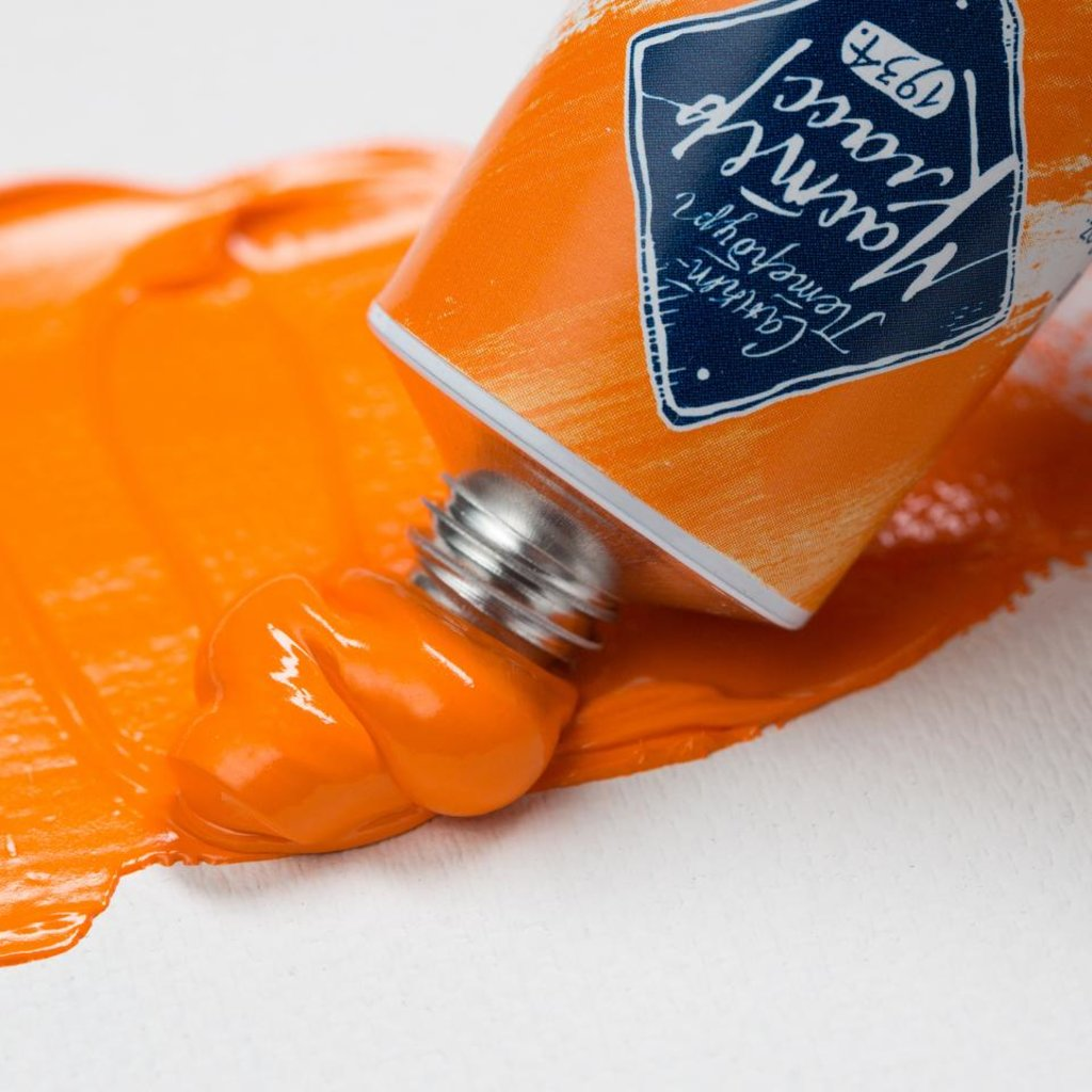 "МАСТЕР-КЛАСС: Краска масляная ""МАСТЕР-КЛАСС""  кадмий оранжевый  46мл в Шедевр, художественный салон"