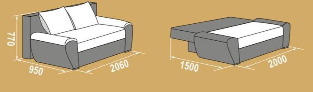 Диваны: Диван-кровать Дельта-4 в Уютный дом