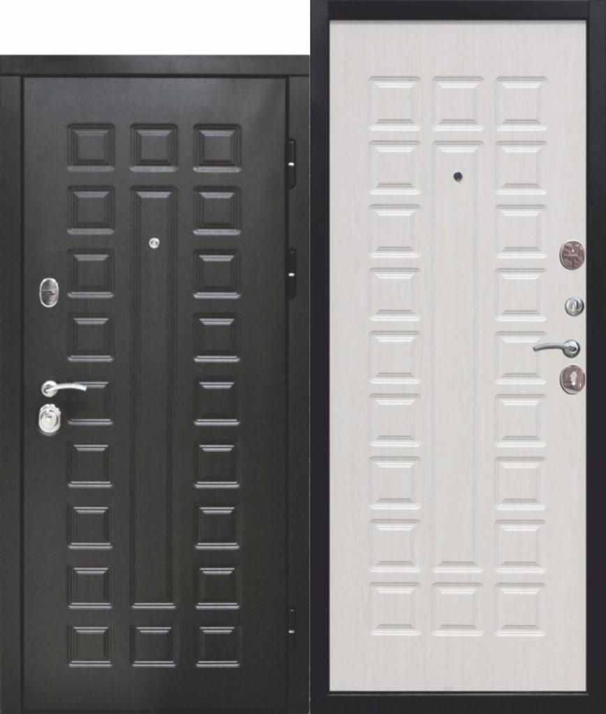 Двери завода Феррони: 12 см СЕНАТОР МДФ/МДФ (Венге/Белый ясень) в Модуль Плюс