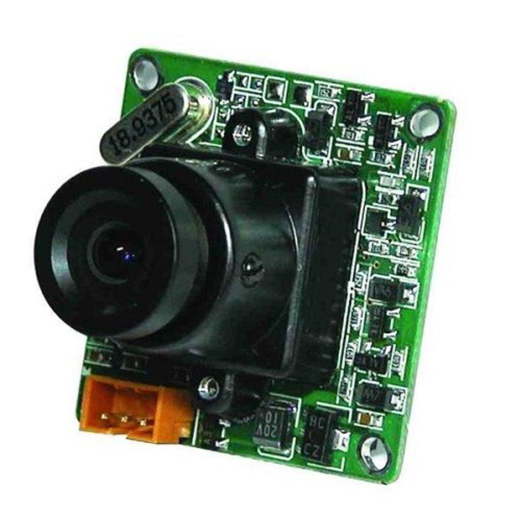 Аналоговые видеокамеры (AHD): Видеокамера модульная SK-1004/C в Микровидео