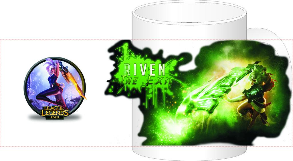 """Выбери готовый дизайн для любой кружки-заготовки: Кружка """"League of Legends"""" в NeoPlastic"""
