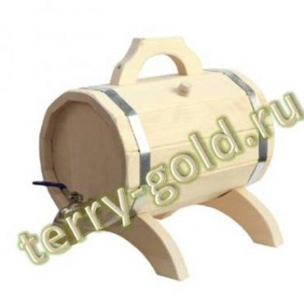Бондарные изделия: Бочонок декоративный для напитков в Terry-Gold (Терри-Голд), погонажные изделия