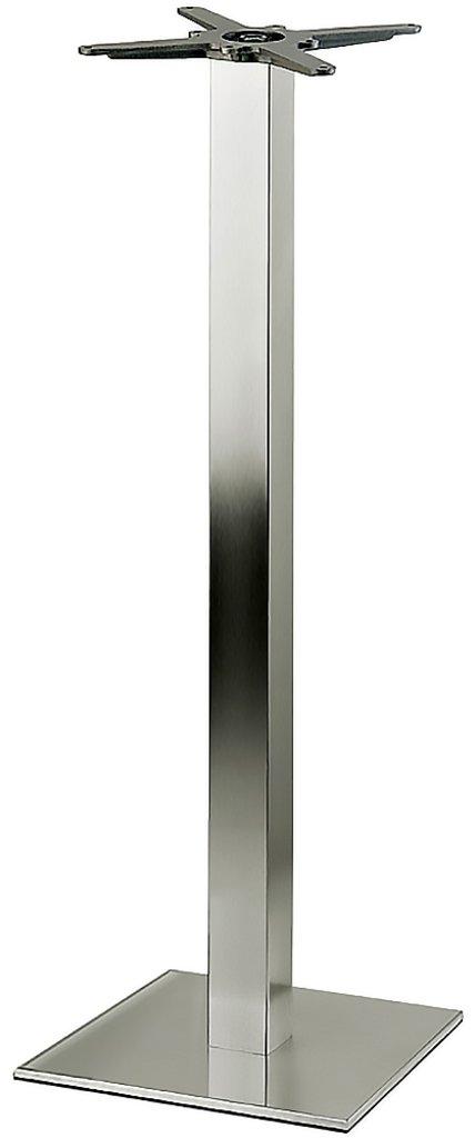 Подстолья для столов.: Подстолье барное 1254EM (нержавеющая сталь матовое) в АРТ-МЕБЕЛЬ НН